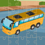 Online Bus Jigsaw Puzzles