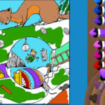 Online Colouring for Adults