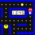 Pacman with clocks