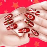 Paint Christmas nails