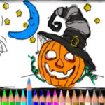 Halloween Online Painting