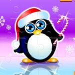 Penguin Christmas Jigsaw Puzzle