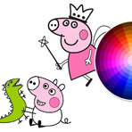 Peppa and George Coloring