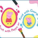 Peppa and George Paint Box