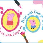 Peppa and George Paint Box