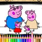 Peppa Pig Online Coloring
