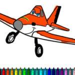 Coloring Planes – Disney