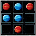 Tic Tac Toe Planets (1-2 players)
