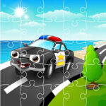 Police Cartoon Jigsaw Puzzles