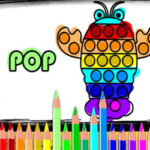 Pop It Drawings Colouring