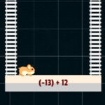 Adding Positive and Negative Numbers with the Hamster