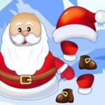 Snow Santa Potato Head