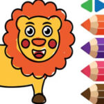 Coloring Animals for Preschool