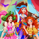 Dress up Pirate Princesses on Halloween