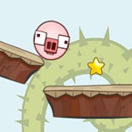 Rolling Pig (Physics Game)