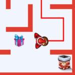 Santa's maze game