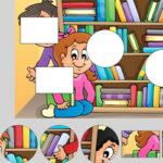 Shape Puzzles: School