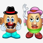 Dress up Mr and Mrs Potato