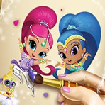 Shimmer and Shine Coloring