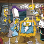 The Simpsons Christmas Jigsaw Puzzle