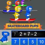Skateboard Pups: 2-Step Calculation