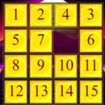 Slide Number Puzzle Online