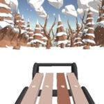 Snow Sledding Race