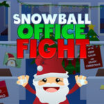 Snowball Fight in the Office