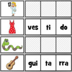 Spanish Syllable Game