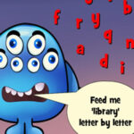 Fun English Spelling with the Monster