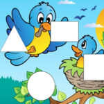 Spring Shape Jigsaw Puzzles