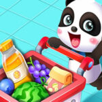 Baby Panda at the Supermarket