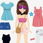 Summer Dress Up Girl