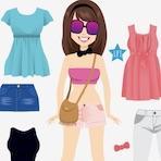 Summer Dress Up Girl