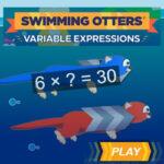 Swimming Otters: Solving Multiplication