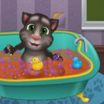 Talking Tom Bath Time
