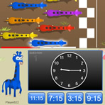 Tell Time on an Analog Clock