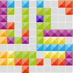 Tetris of Rows and Columns