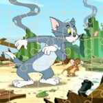 Tom and Jerry Jigsaw Puzzles