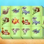 Triple Mahjong: Aquatic Animals