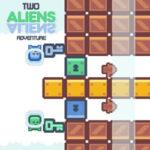 Two Aliens: Symmetrical Adventure