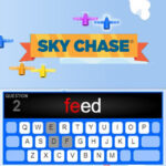 Sky Chase: Typing Words Race