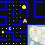 US States Pacman