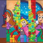 Vertical Christmas Jigsaw Puzzle