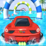 Water Car Stunt