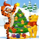 Winnie's Jigsaw Puzzle at Christmas