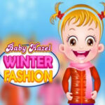 Baby Hazel Dress Up in Winter