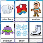 Winter Vocabulary Flashcards
