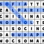 Capitals of Europe Word Search