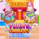 Yummy Churros Ice Cream